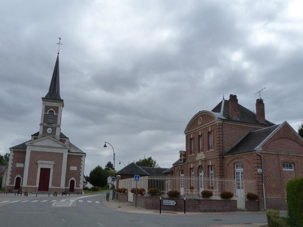 Centre village Bussy-lès-Daours